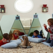 Fun Indoor Camping!